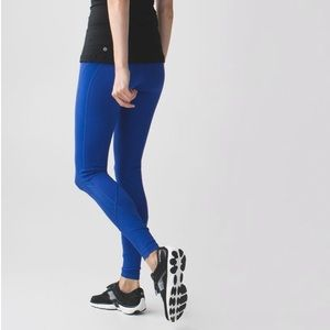 Lululemon Drop It Like It's Hot Tight Legging Blue